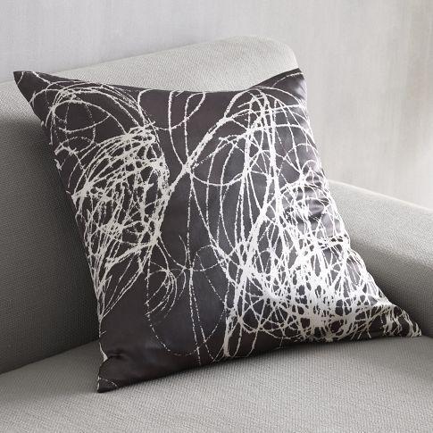 west elm chalkboard pillow