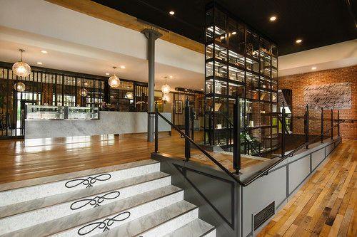 The Charmant Hotel La Crosse Interior Entrance