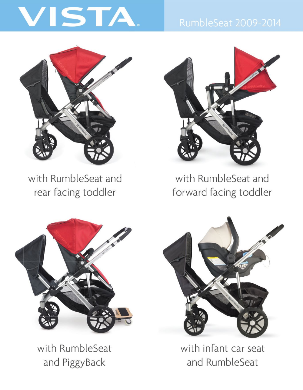 uppababy vista 2014 configurations Google Search in 2020