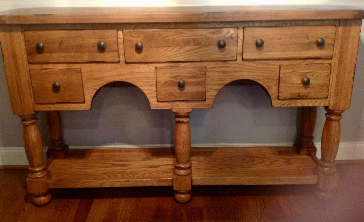Broyhill Attic Heirlooms Buffet Side Board In Oak Stain Broyhill Furniture My Furniture Oak Stain