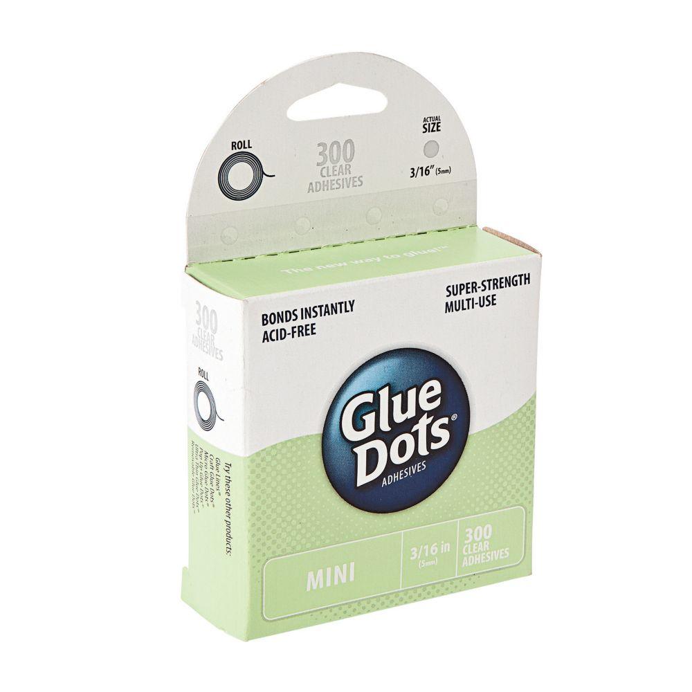 Gluedots Mini Adhesive Dots 300 Pc Glue Dots Adhesive Dots
