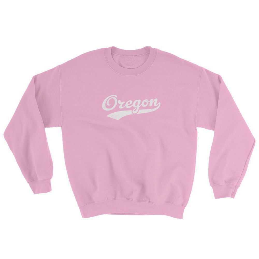 Vintage Oregon OR Sweatshirt with Script Tail Design Adult (Unisex)