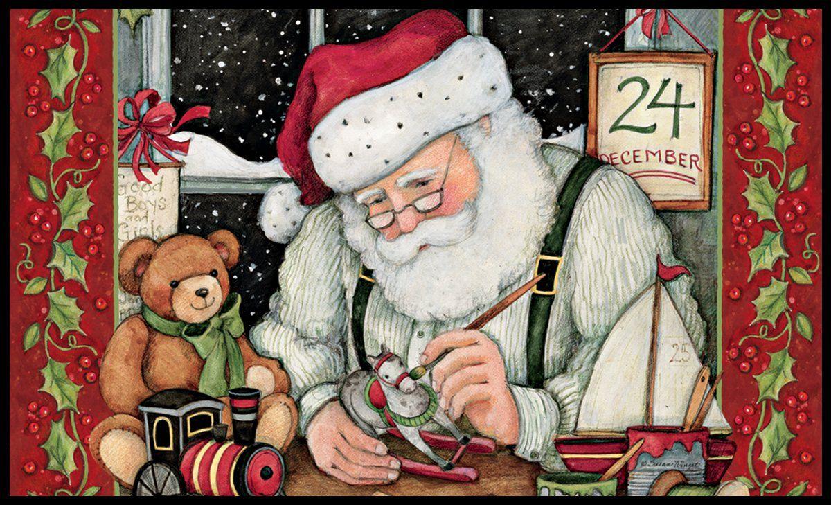 Cross Stitch Pattern SANTA/'S WORKSHOP BEAUTIFUL CHRISTMAS DESIGN