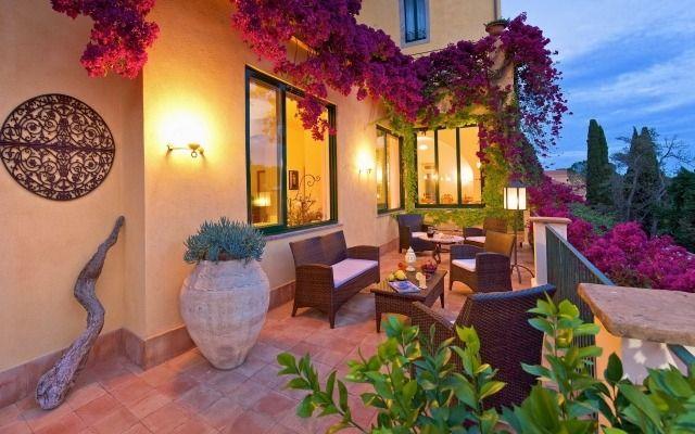 Balkon Kletterpflanzen Fassade Verschonern Mediterran Wohndesign