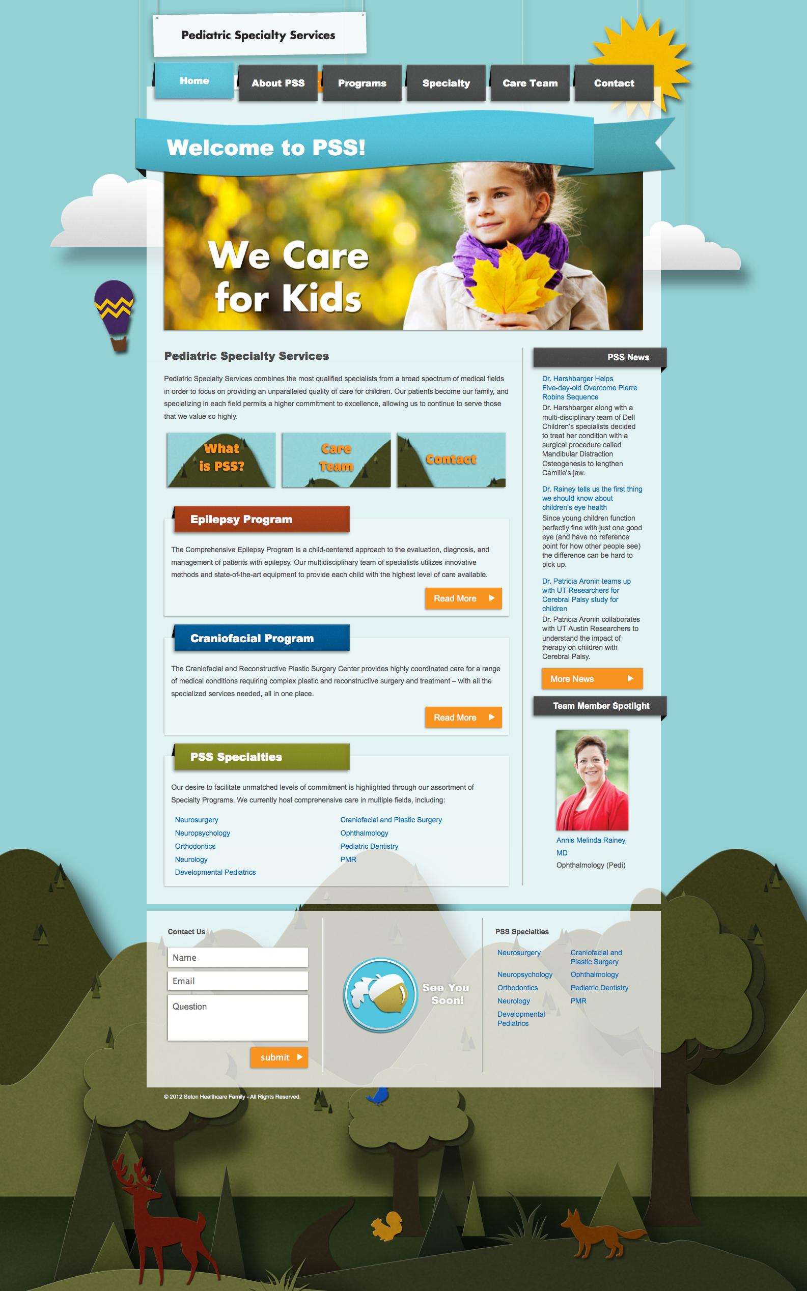 Pin By Damjan Jovanovski On Web Design Inspiration Pediatric Specialties Web Design Inspiration Pediatrics