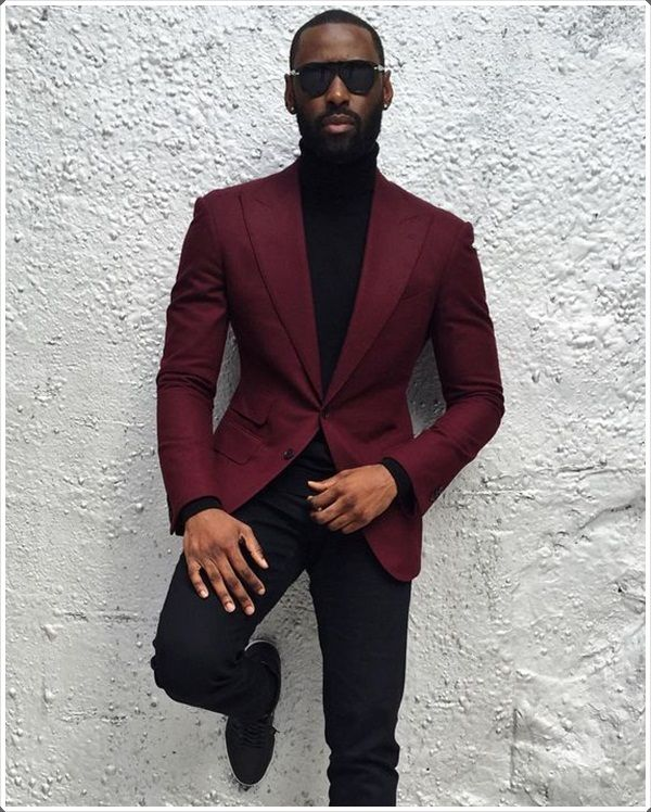 40 Best Maroon Mens Suits Ideas to Look More Bold and Classic