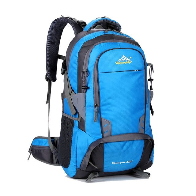 50L Ultralight Backpack Large Rucksack Camping Hiking Trekking Outdoor Bag UK