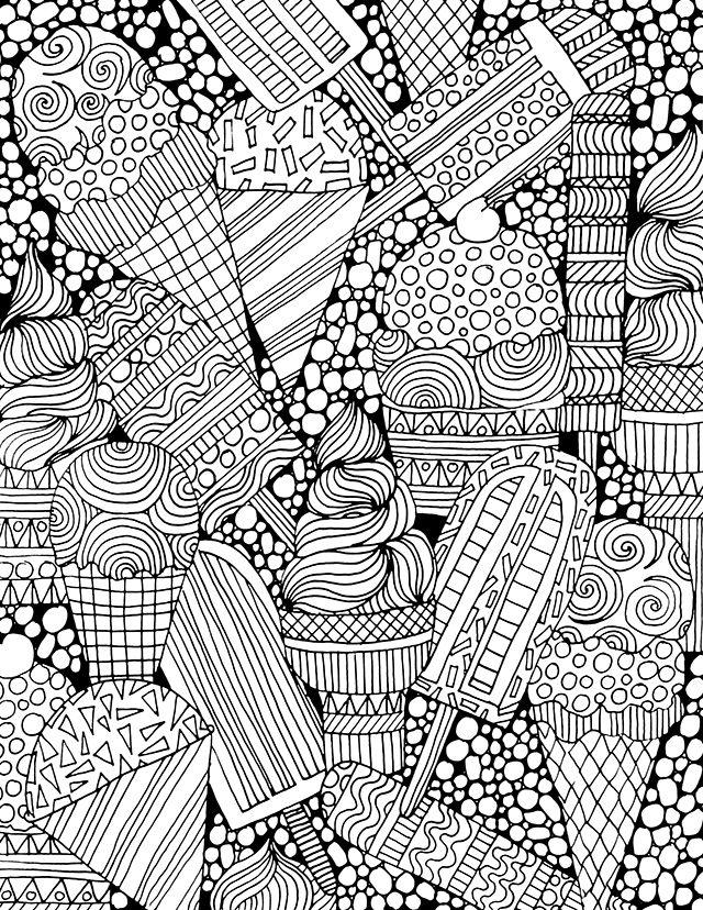 alisaburke: Colorear libre para usted! | Arte terapia | Pinterest ...