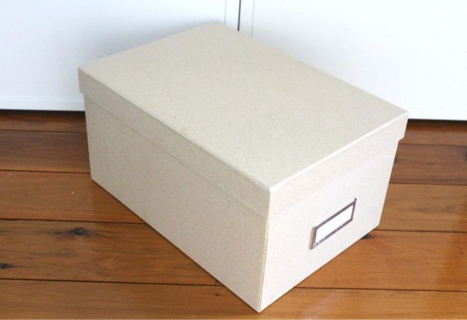 White Decorative Storage Boxes With Lids For Interesting Home