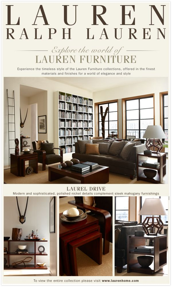 Ralph Lauren Interiors Ralph Lauren Designer Furniture And Lighting Accessories Decorative