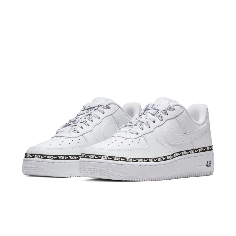 the latest 15fc8 a0925 Nike Air Force 1 07 SE Premium Overbranded Womens Shoe - White