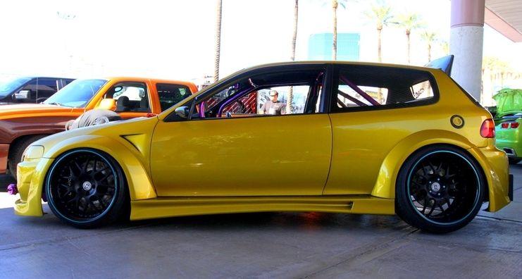 92 95 Custom Honda Civic Hatchback