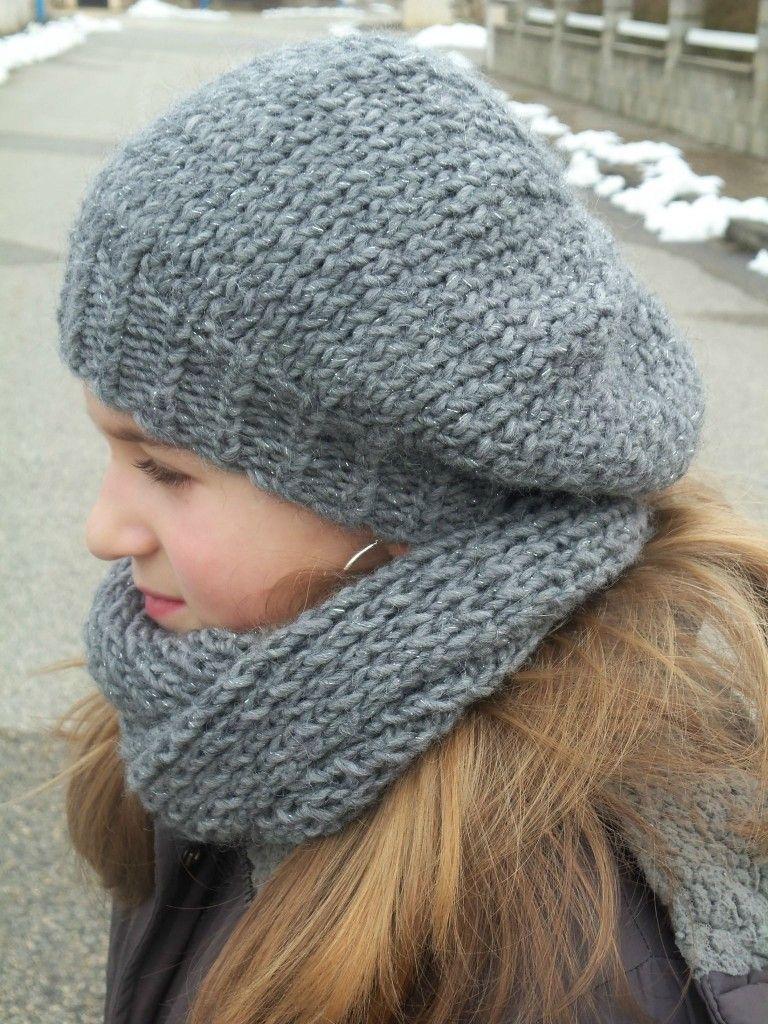 tuto beret femme tricot gratuit
