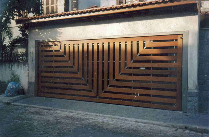 Unusual Door Designs From Brazil Part 2 Garage Doors With Style Unique Garage Doors Garage Door Design Garage Doors