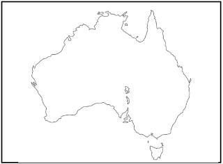 Map Of Australia Labelled.Kwl Chart Of Australia Template Google Search Australia