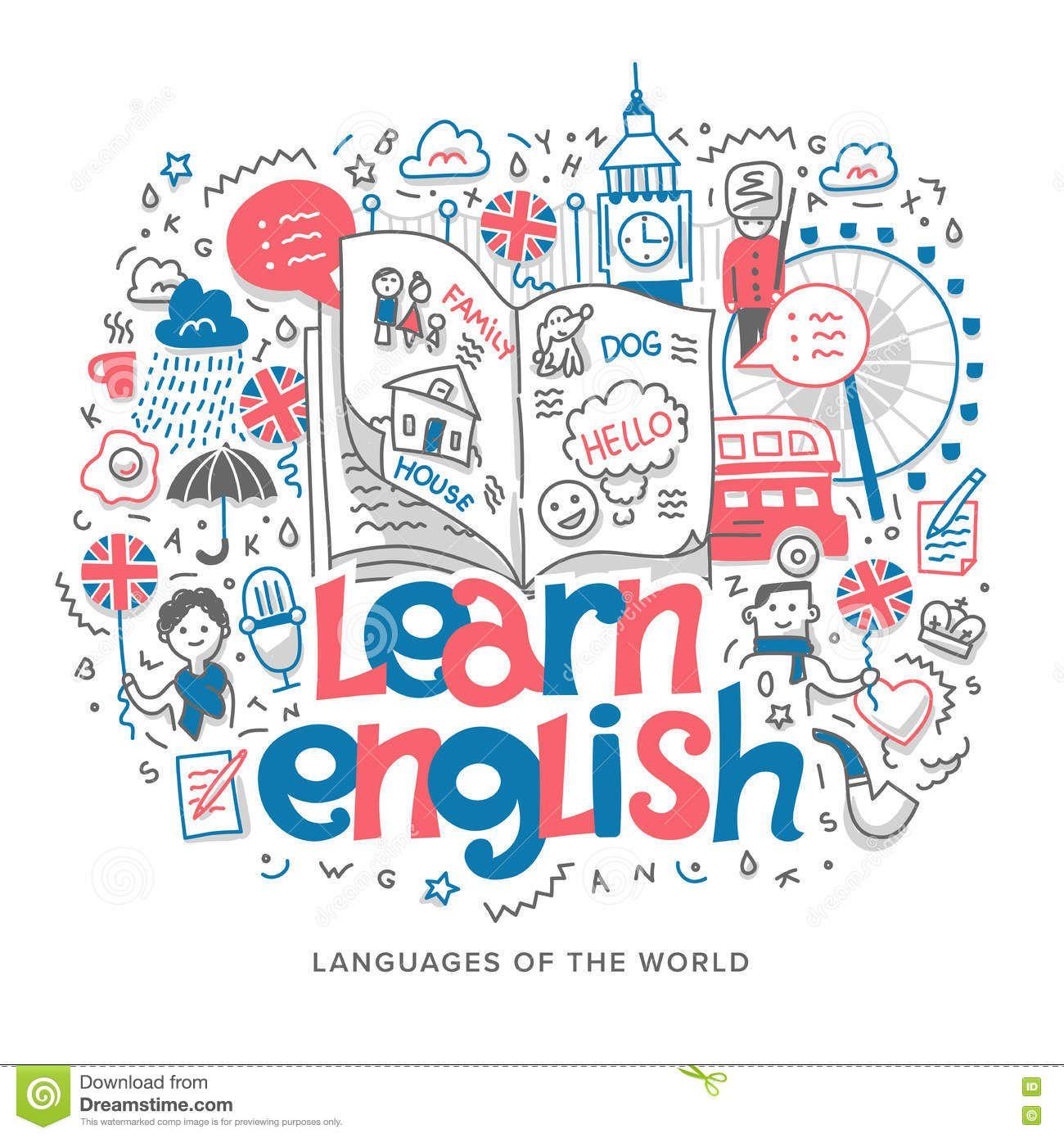 Hình ảnh có liên quan | doodle art | Pinterest | Learning ...  English