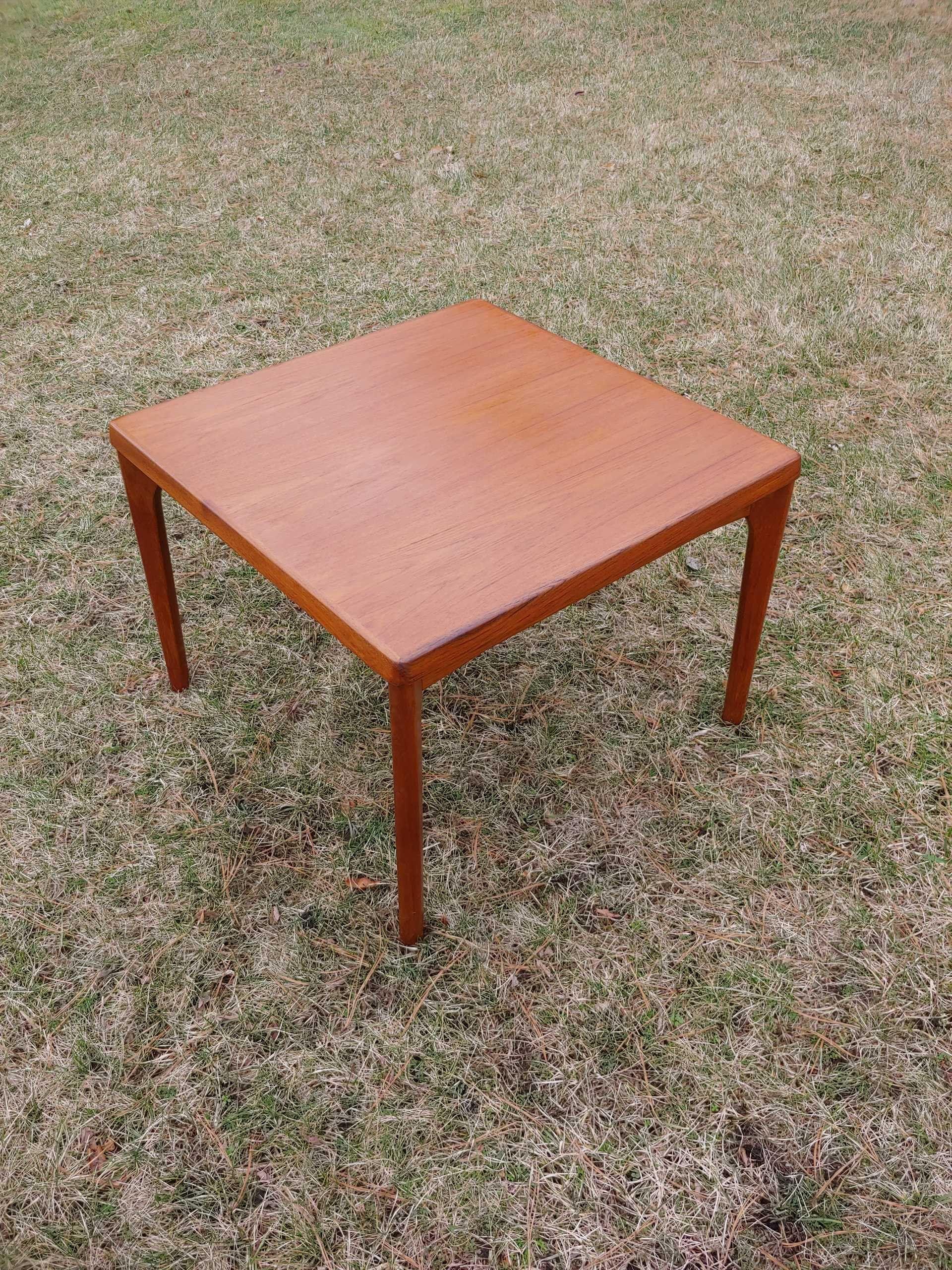 Mid Century Modern Teak Side Table Large Danish Modern Teak Etsy In 2020 Teak Side Table Side Table Small Coffee Table