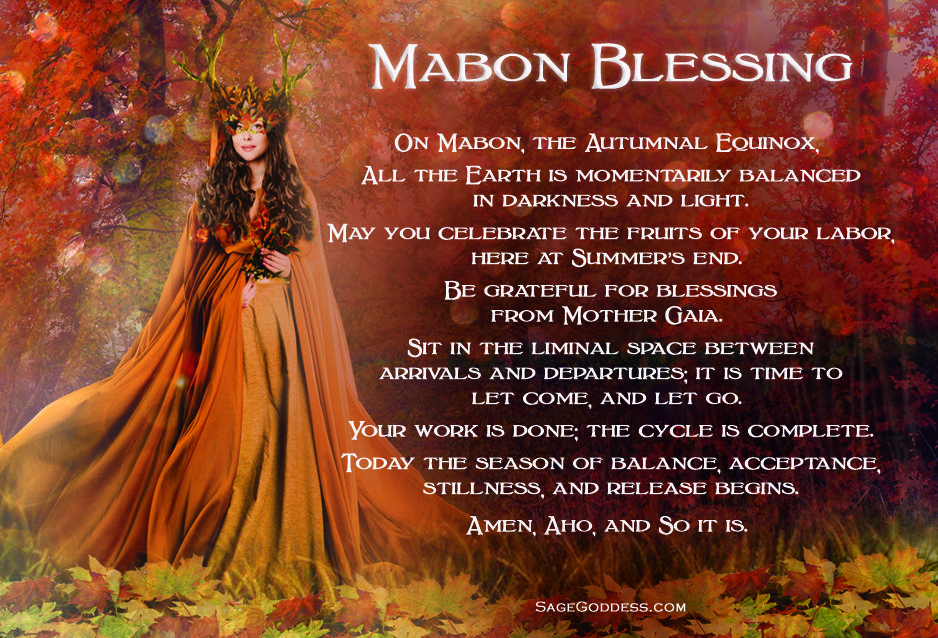 Mabon: A Time to Create Space for New Adventures #maboncelebration Wishing you a tranquil time of reflection during this Autumnal Equinox. #autumnalequinox