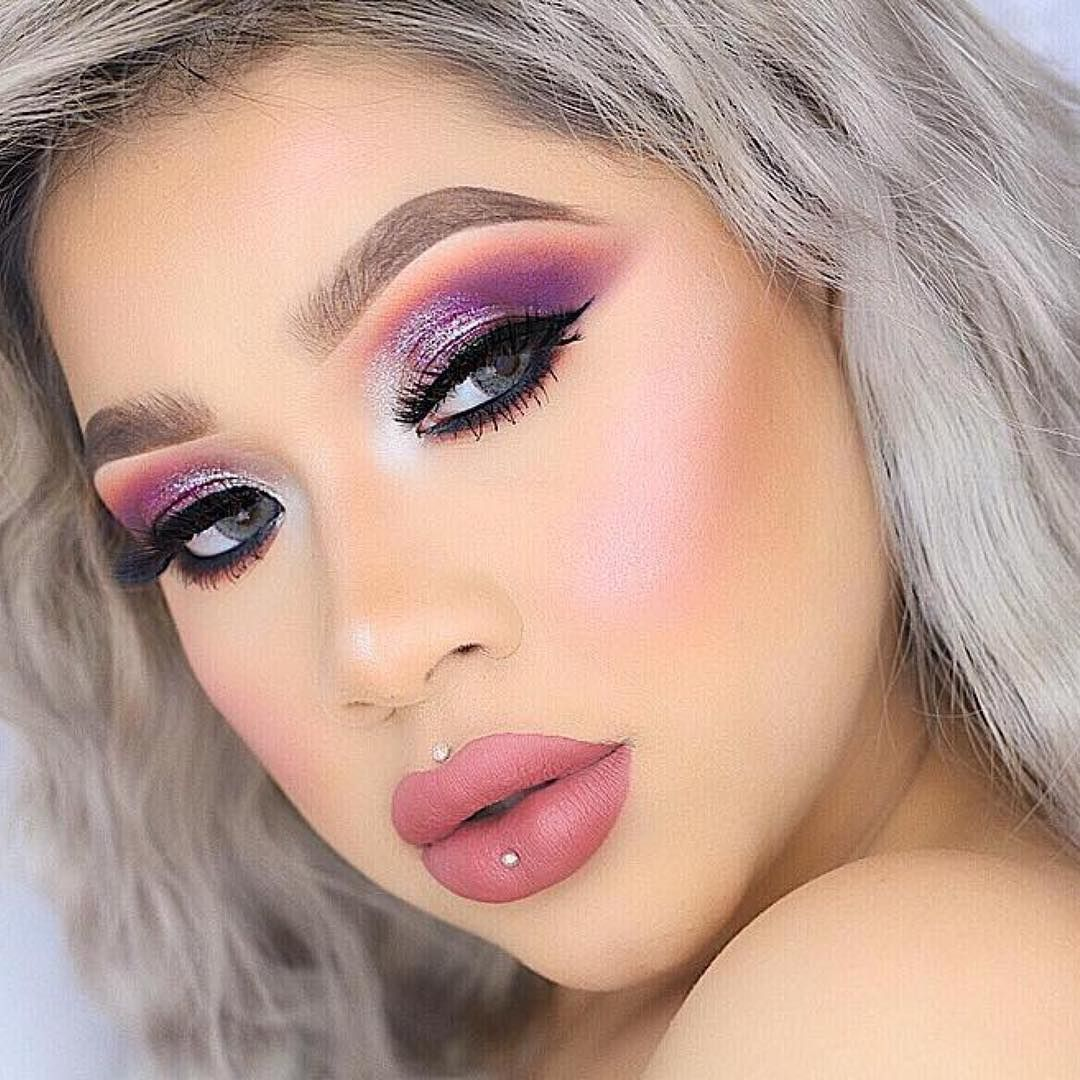 loving how the BeBella Go Pro Palette is used in this look