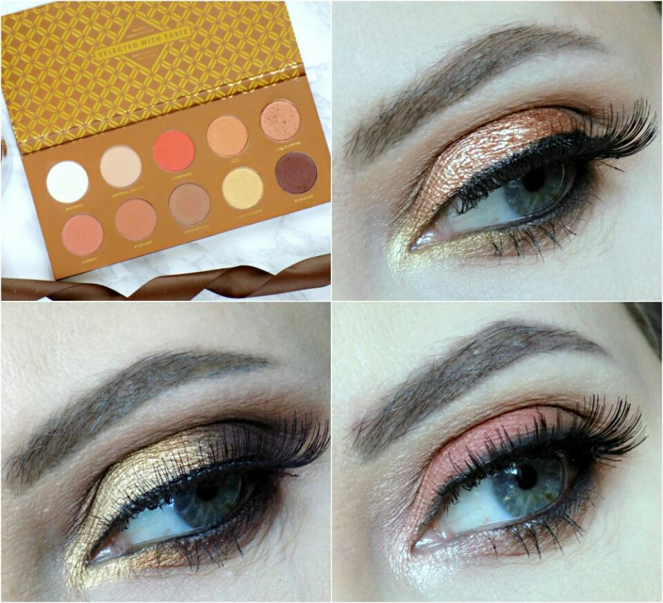 Zoeva Retro Future Tutorial Makeup Disguises T Beautyamare Eye Diagram Parts Of The For 1 Palette 3 Looks Caramel Melange Look With