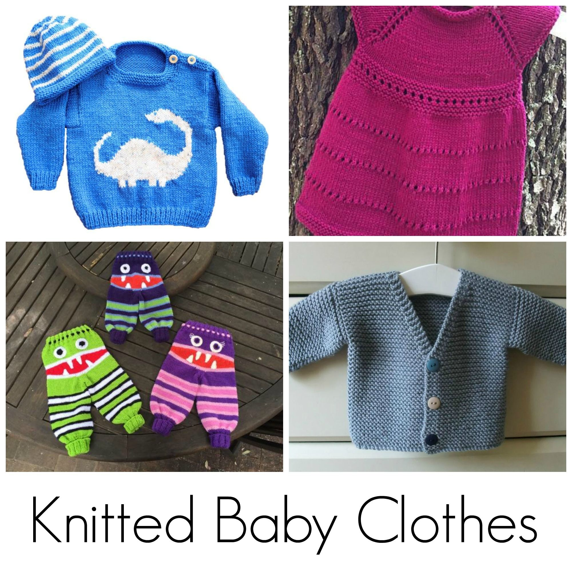 The Sweetest Knitted Baby Clothes Ever | Knitted baby clothes ...