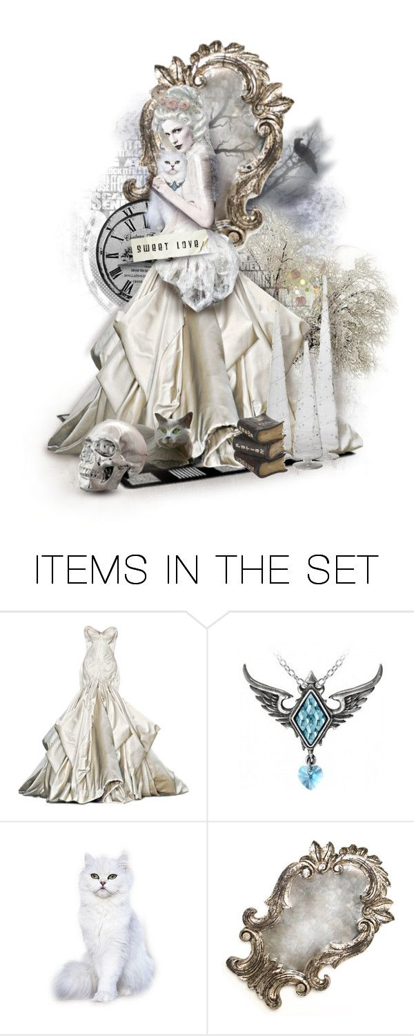 """Sweet Witch"" by gailwind ❤ liked on Polyvore featuring art"