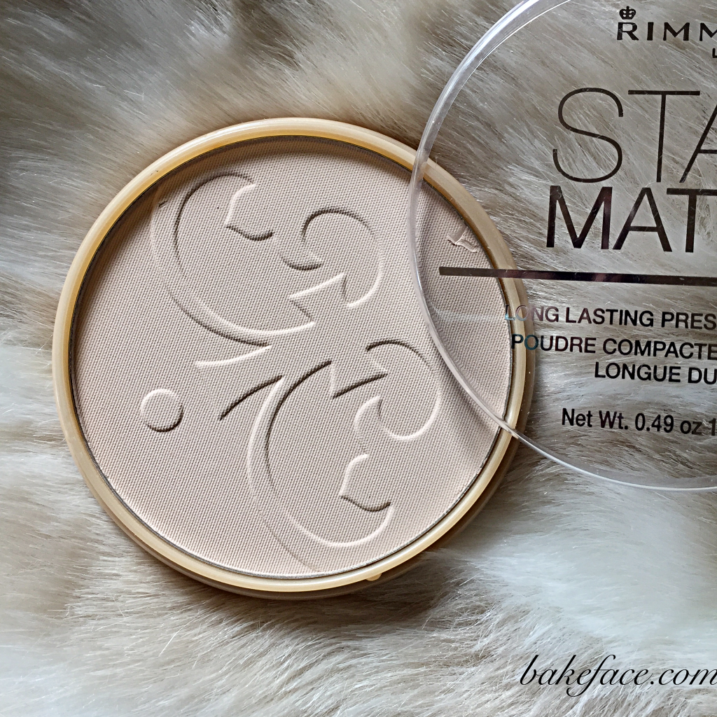 Bake Face's tips for makeup that lasts ALL day! Stay Matte Pressed Powder by Rimmel