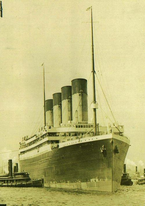 Britannic Engine Room: RMS Olympic Arriving At New York On Her Maiden Voyage