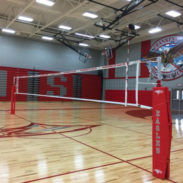 Aluminum Volleyball Pole Al7 Indoor Aluminum Volleyball Upright Indoor Volleyball Volleyball Indoor