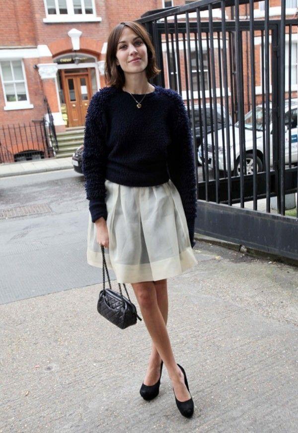 71d077431 Falda de talle alto: Cómo combinarla | Falda de talle alto: las ...