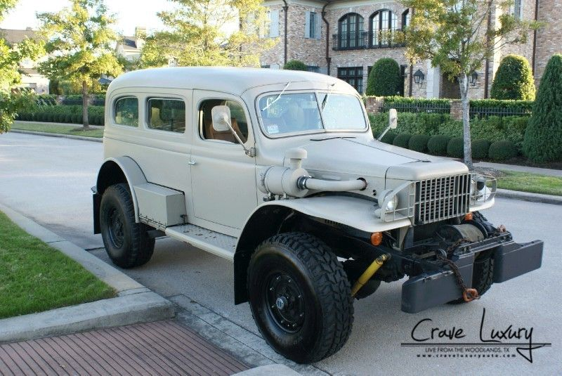 42 Dodge Carryall 4X4 | Old pickups & panels | Pinterest | 4x4 ...