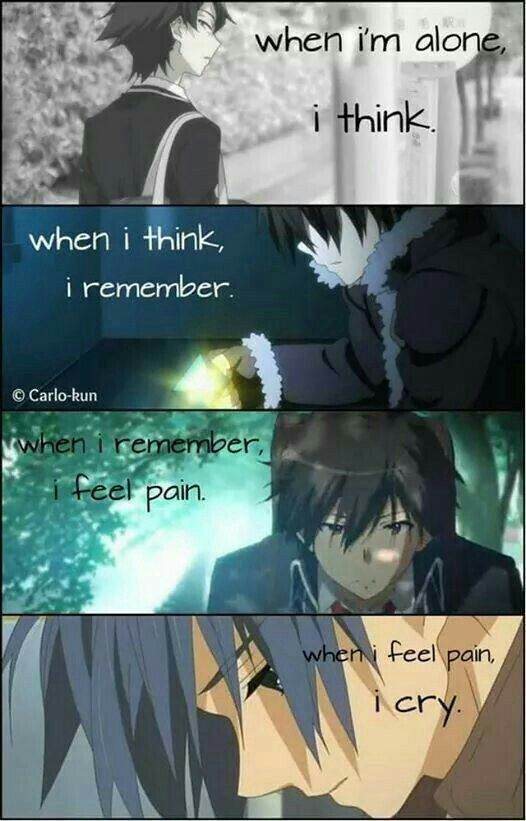 Pin on anime quotes (broken ,sad ,hurt)