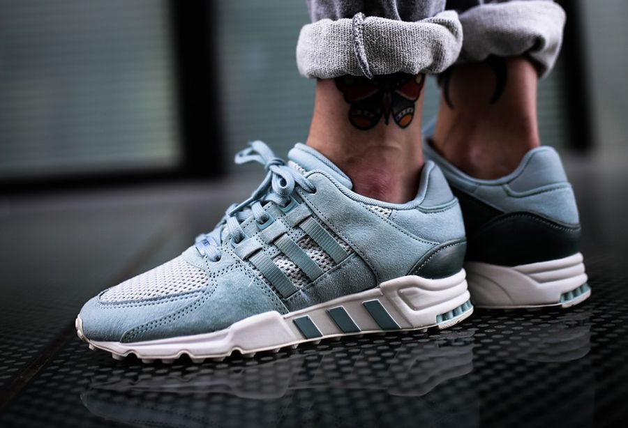 new arrival 0e570 e976f Chaussure Adidas EQT Support 93 RF Tactile Green (femme) (1)