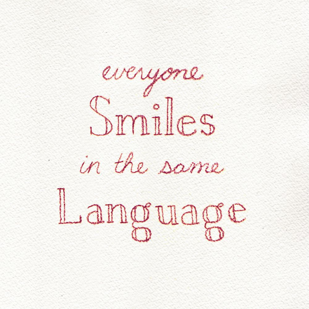 Image result for everyone smiles in the same language