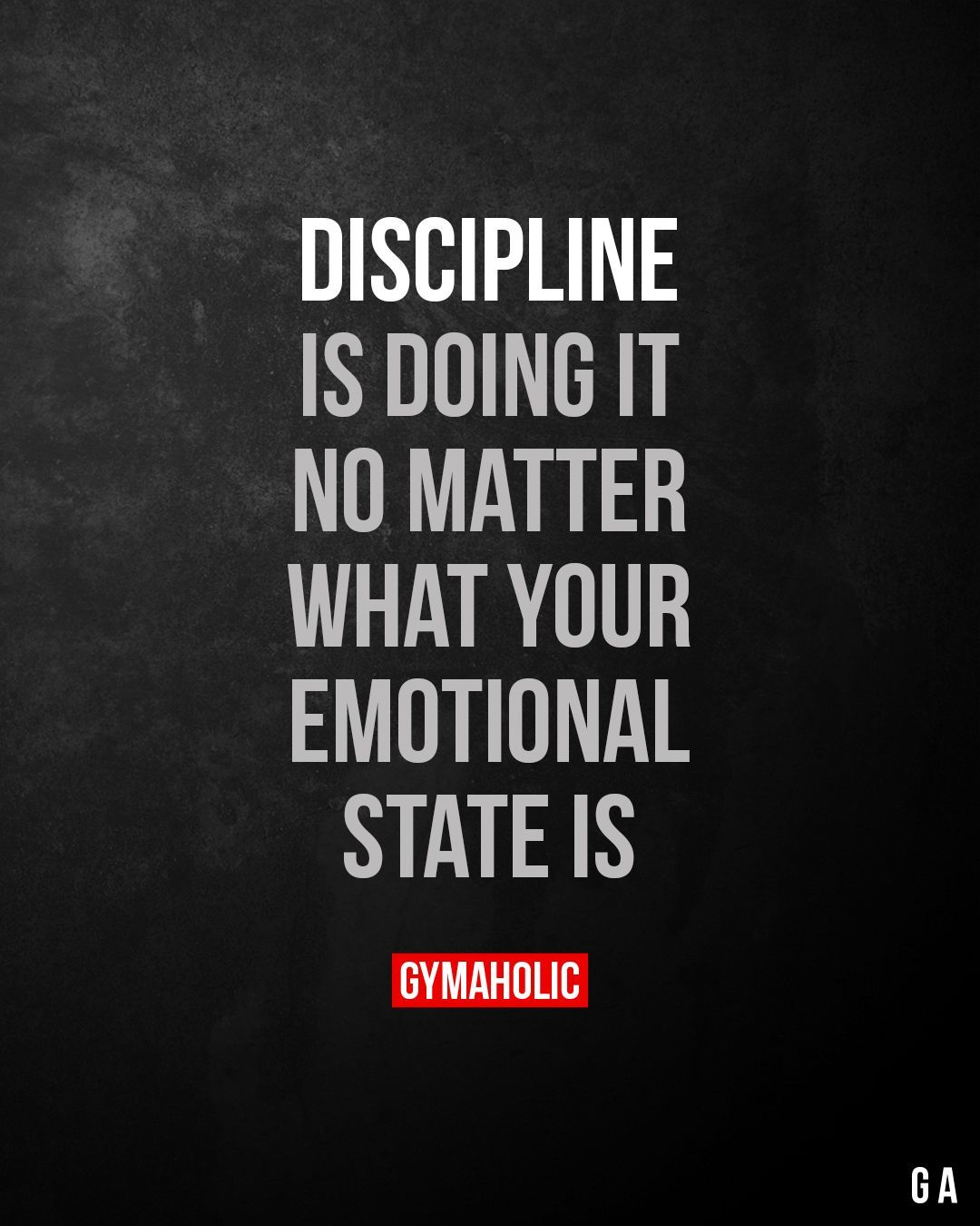 Fitness Motivational Quotes #fitness motivation quotes Discipline is doing it, no matter what your e...