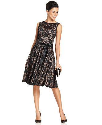 Marina Dress Sleeveless Lace Dresses Women Macys