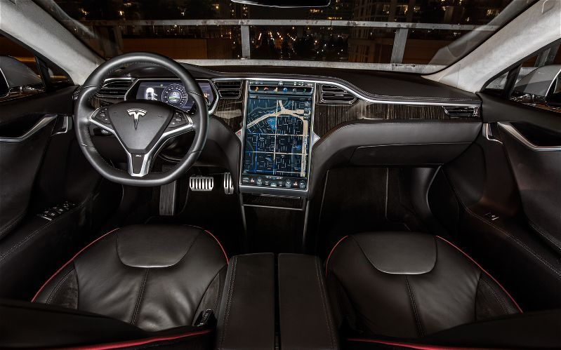 """Luxury Vehicle: Here Is The Inside Of Jack White's New """"ride"""" The Tesla"""