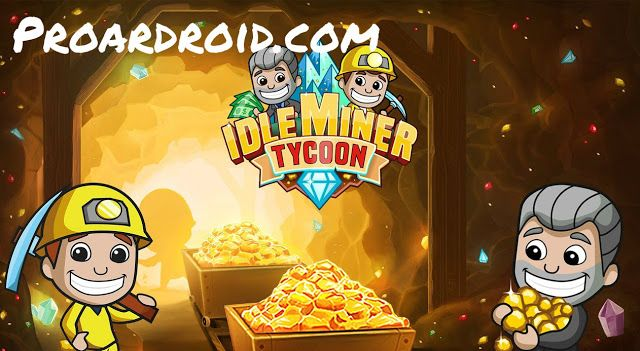لعبة زعيم المناجم Idle Miner Tycoon v1.43.1 مهكرة كاملة ...