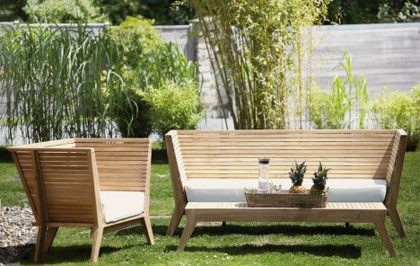 Outdoor Lounge Gartenmobel Richtig Pflegen Das Haus Gartenmobel Design Gartensofa Aussenmobel