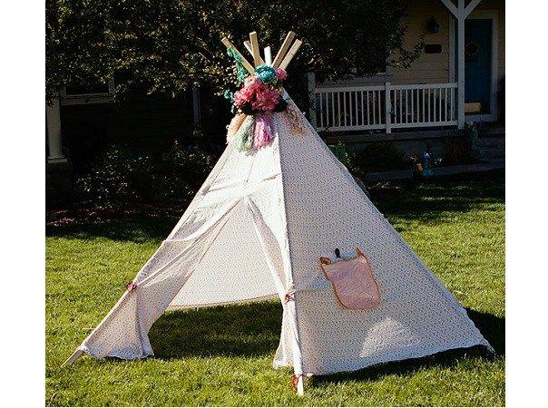 Free pattern DIY tee pee tent  sc 1 st  Pinterest & Free pattern: DIY tee pee tent | Free pattern Patterns and Fabrics