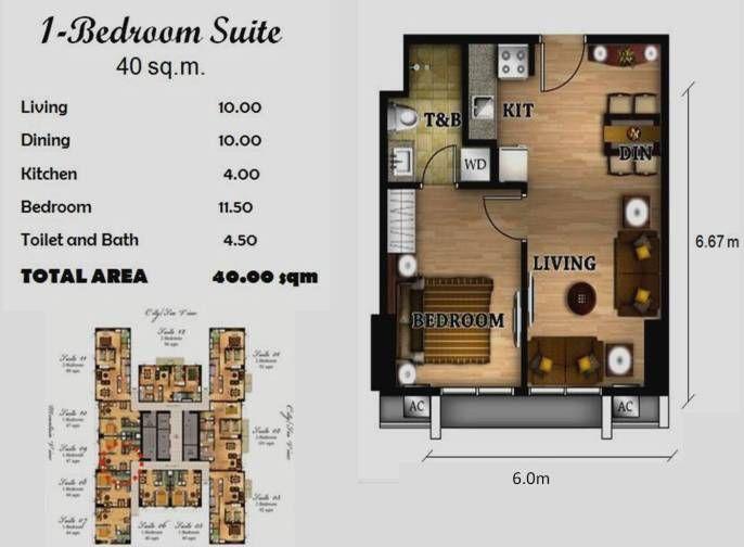 40 Square Meter House Floor Plans – Migliori Pagine da Colorare