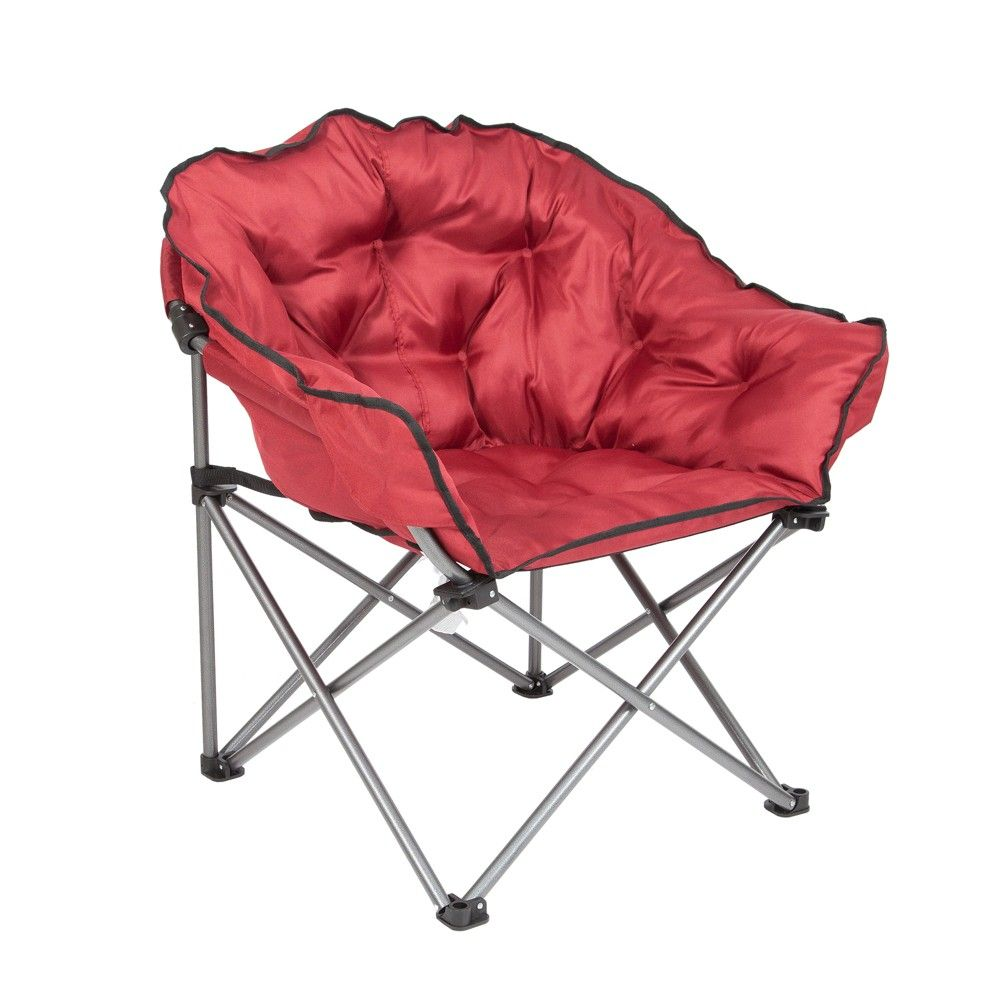 Fantastic Mac Sports Folding Padded Outdoor Club Chair With Carry Bag Uwap Interior Chair Design Uwaporg