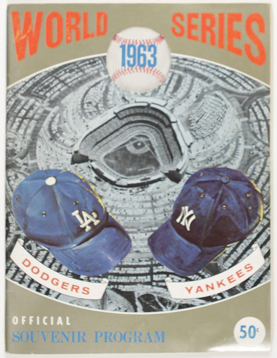 1963 Los Angeles Dodgers 4 New York Yankees 0 Dodgers 1963 World Series World Series
