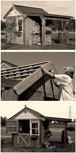 free diy potting shed building plans from the progressive farmer