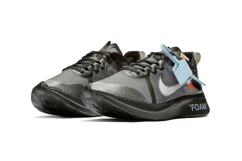 A Clean Look at This Week's Off White™ x Nike Zoom Fly Release