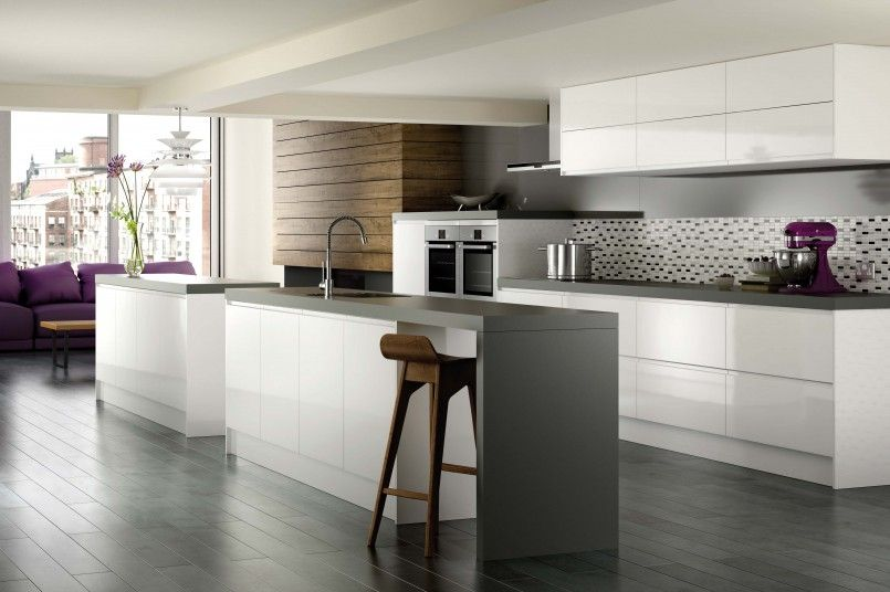 Kitchen Awesome Luxury Modern Black White Kitchen Designs With Beauteous Black And White Kitchen Designs Design Inspiration