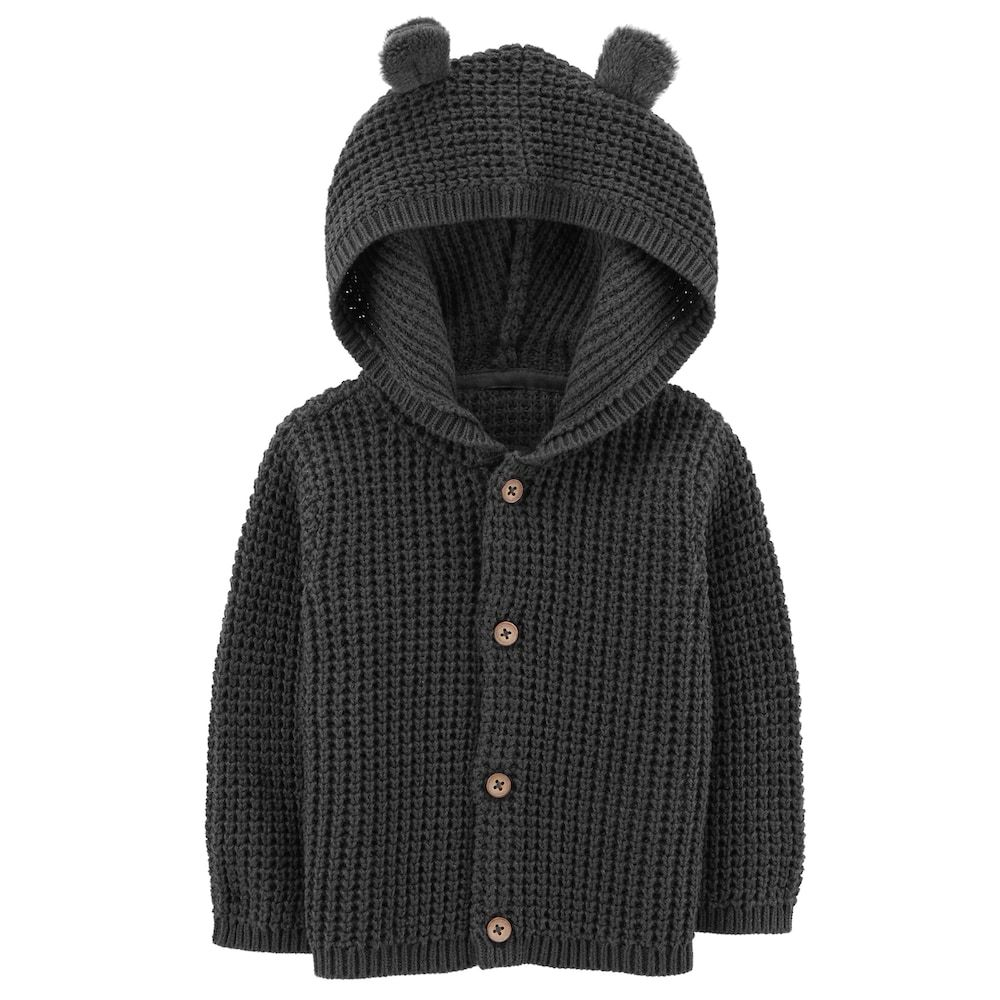 12 Months Carters Baby Boys Button-Front Cardigan