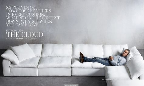 Gotta Have It Restoration Hardware The Cloud Sectional Sofa Dd Designs For My Home Pinterest Restor