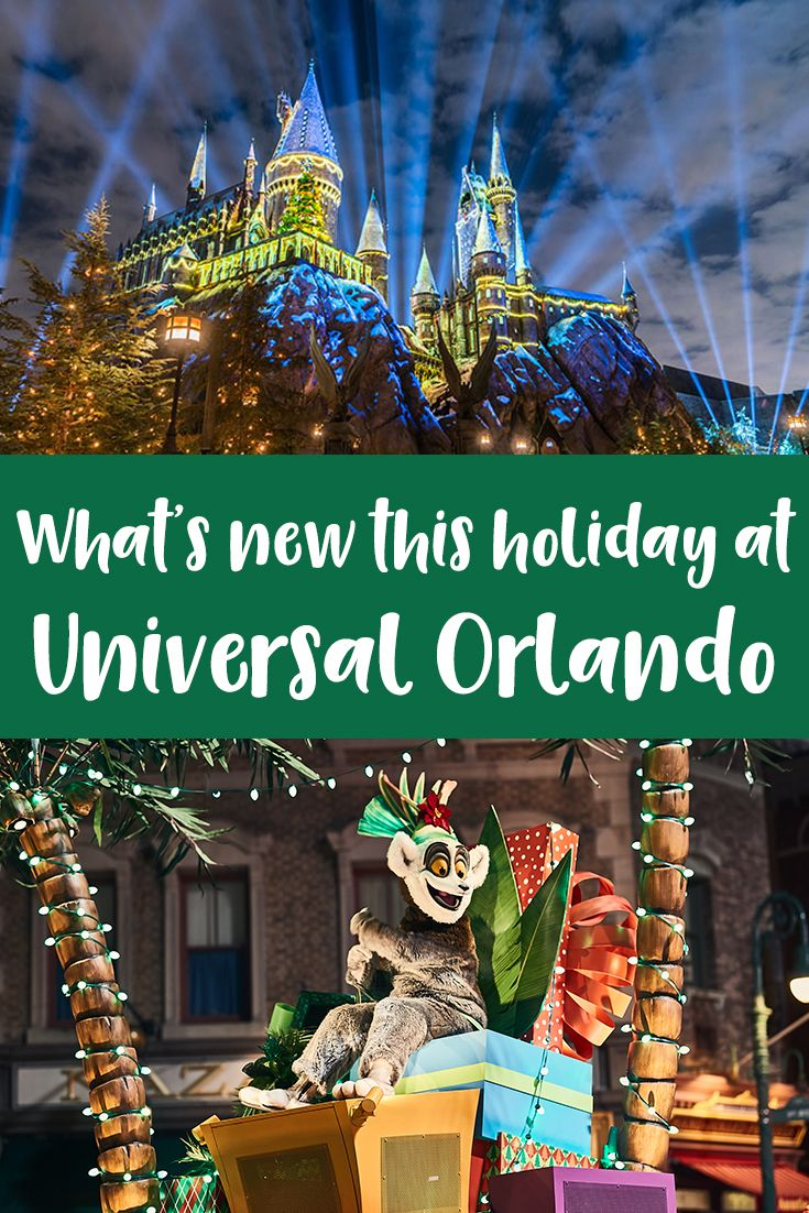 What's New At Universal Orlando For The 2017 Holidays