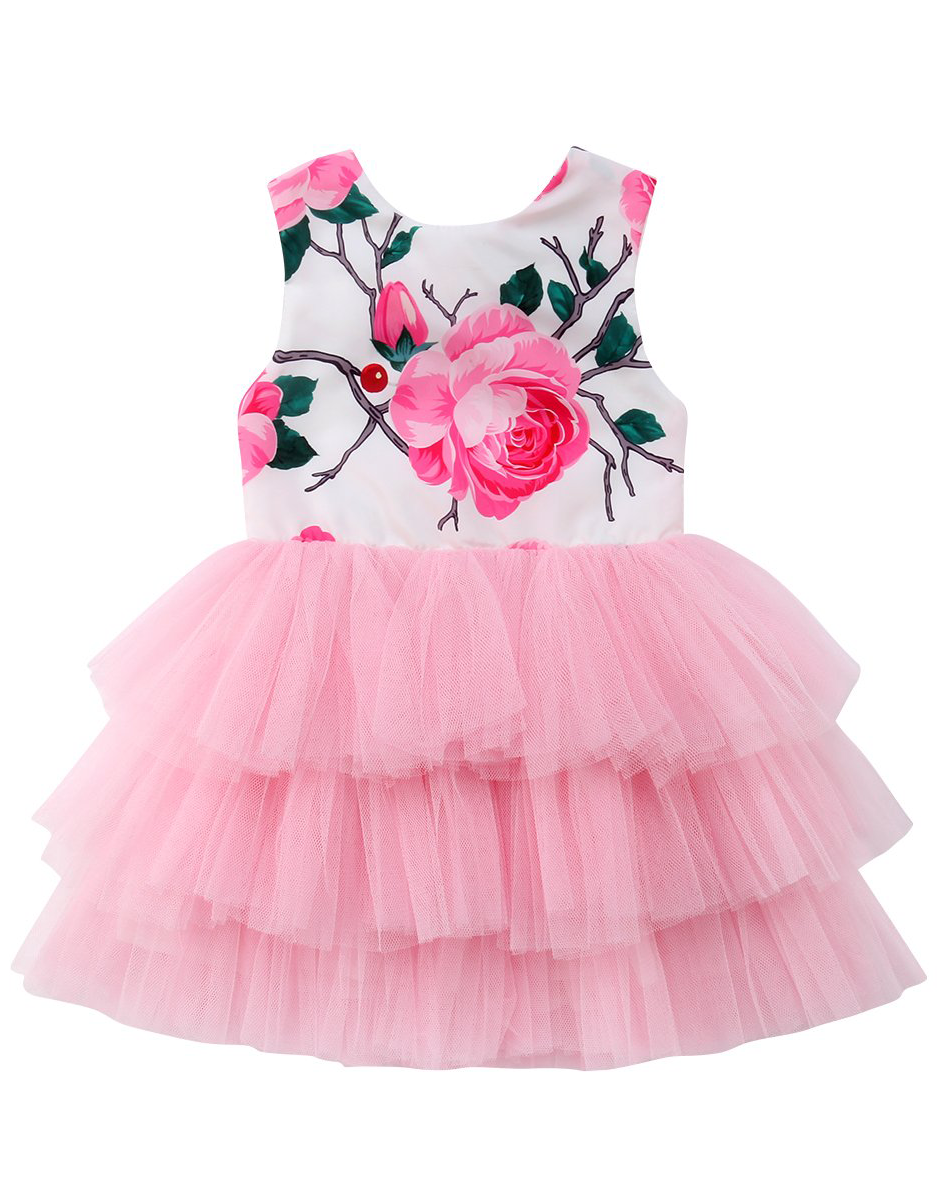 2ce43912c Rose Bow Party Dress | Dress For Your Little Princess | Toddler girl ...